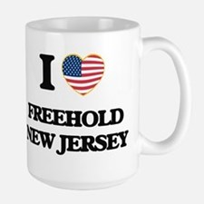 I love Freehold New Jersey Mugs