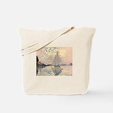 Sailing Ship by Monet Tote Bag