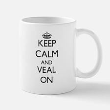 Keep Calm and Veal ON Mugs