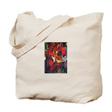 The Fox by Franz Marc Tote Bag