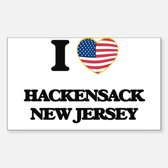 I love Hackensack New Jersey Decal
