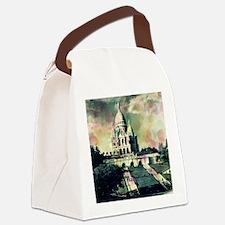 Sacré Coeur Funky Dots Canvas Lunch Bag