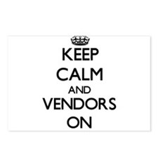 Keep Calm and Vendors ON Postcards (Package of 8)