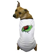 Ladybug on a Leaf Dog T-Shirt