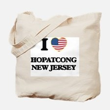 I love Hopatcong New Jersey Tote Bag