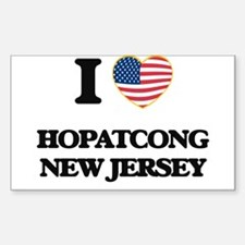 I love Hopatcong New Jersey Decal