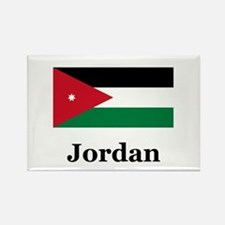 Jordan Rectangle Magnet