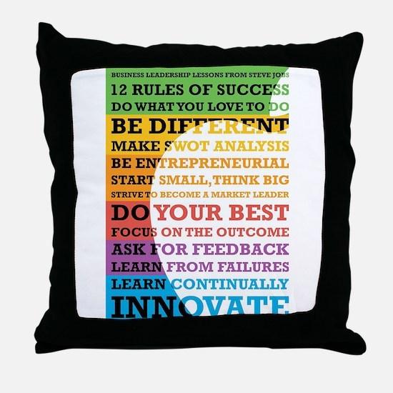 Cute Leadership Throw Pillow