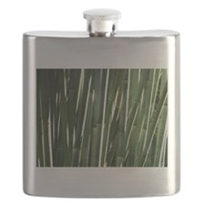 Bamboo Absrtact Flask