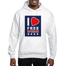 I Love Free Speech Hoodie