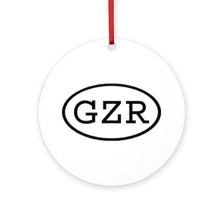 GZR Oval Ornament (Round)