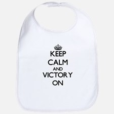 Keep Calm and Victory ON Bib