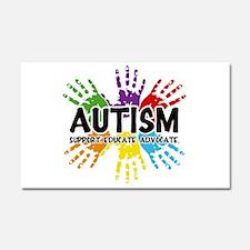 Autism: support, educate, advocate. Car Magnet 20