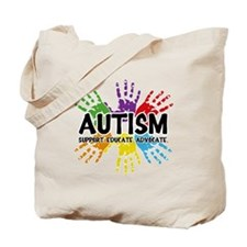 Autism: support, educate, advocate. Tote Bag