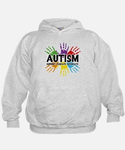 Autism: support, educate, advocate. Hoodie