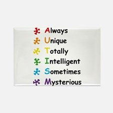 Autism Facts Magnets