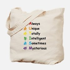 Autism Facts Tote Bag