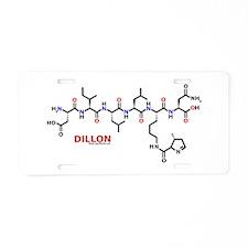 Dillon molecularshirts.com Aluminum License Plate