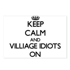 Keep Calm and Villiage Id Postcards (Package of 8)