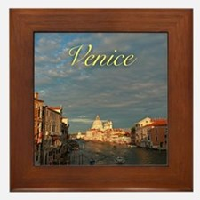 Venice Gift Store Pro Photo Framed Tile