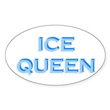 Ice Queen Oval Decal