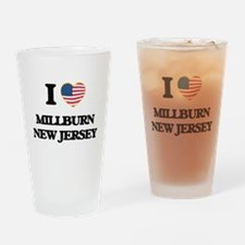 I love Millburn New Jersey Drinking Glass