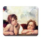 Raphael angels Mouse Pads