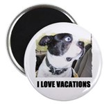 I LOVE VACATIONS Magnet