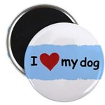 I LOVE MY DOG Magnet