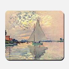 Sailing Ship by Monet Mousepad