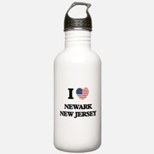 I love Newark New Jers Water Bottle
