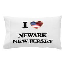 I love Newark New Jersey Pillow Case