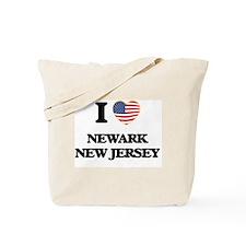 I love Newark New Jersey Tote Bag
