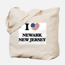 I love Newark New Jersey Tote Bag