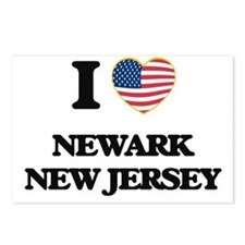 I love Newark New Jersey Postcards (Package of 8)