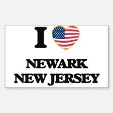 I love Newark New Jersey Decal