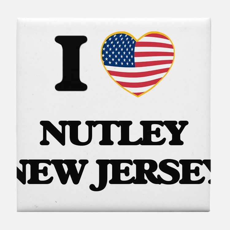 I love Nutley New Jersey Tile Coaster