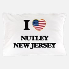 I love Nutley New Jersey Pillow Case
