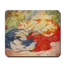 Cats by Franz Marc Mousepad