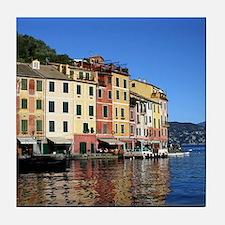 Portofino, Italy Tile Coaster