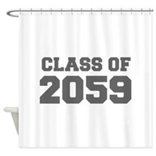 CLASS OF 2059-Fre gray 300 Shower Curtain