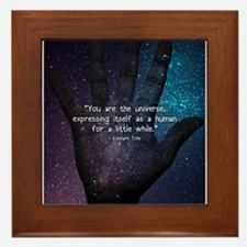 You Are the Universe Framed Tile