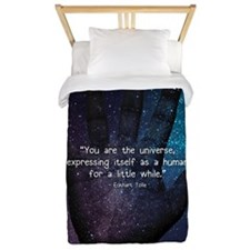 You Are the Universe Twin Duvet