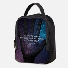 You Are the Universe Neoprene Lunch Bag