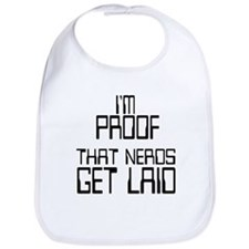Cute Nerds Bib