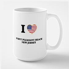 I love Point Pleasant Beach New Jersey Mugs