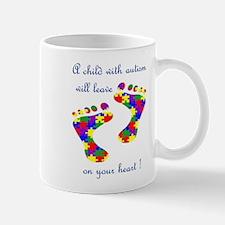 Footprints on your heart Mug