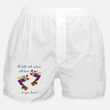 Footprints on your heart Boxer Shorts