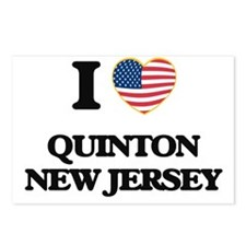 I love Quinton New Jersey Postcards (Package of 8)