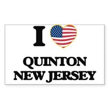 I love Quinton New Jersey Decal
